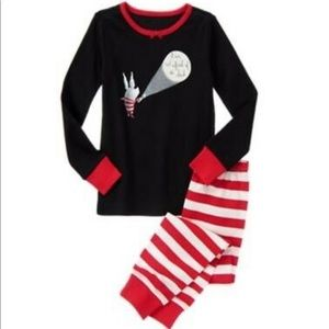 Gymboree Olivia Collection Not Afraid Of Dark PJ